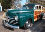 1947 Ford Woodie - Fuddruckers Lakewood, CA Saturday night meet