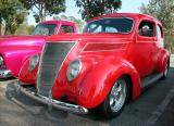 1937 Ford - Fuddruckers Lakewood, CA Saturday night meet