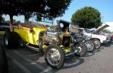 T Bucket - Fuddruckers Lakewood, CA Saturday night meet