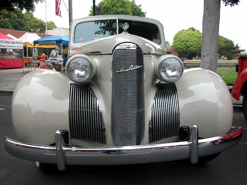 LaSalle Series El Segundo CA Main Street Car Show Photo - El segundo car show