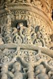 Little lost squirrel, Sun Temple, Modhera, Gujarat