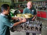 Installing the fan & drive