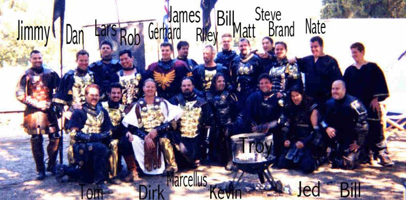 Orkney War Band Potrero War Sept 2000