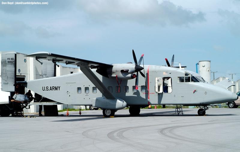 U. S. Army (Puerto Rico National Guard) Shorts SD3-30 #81862 military aviation stock photo