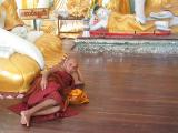 The Reclining Monk