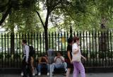 Gramercy Park passersby