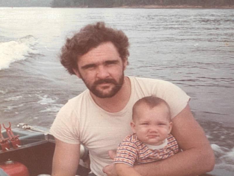 Steve Cavanah &  Steven Jr. 1975