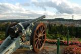 Cannon in front of the Union Building, Pretoria