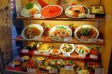 Plastic food display, Dotomburi-dori, Osaka