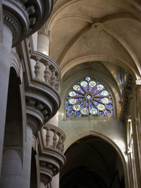 Transept vaulting