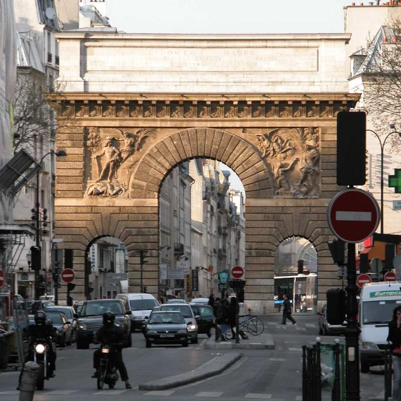 Our neighborhood triumphal arch