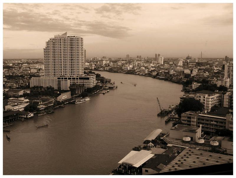 Chao Phraya River 20 years ago... joking