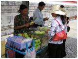 Typical Street Fruit Hawker