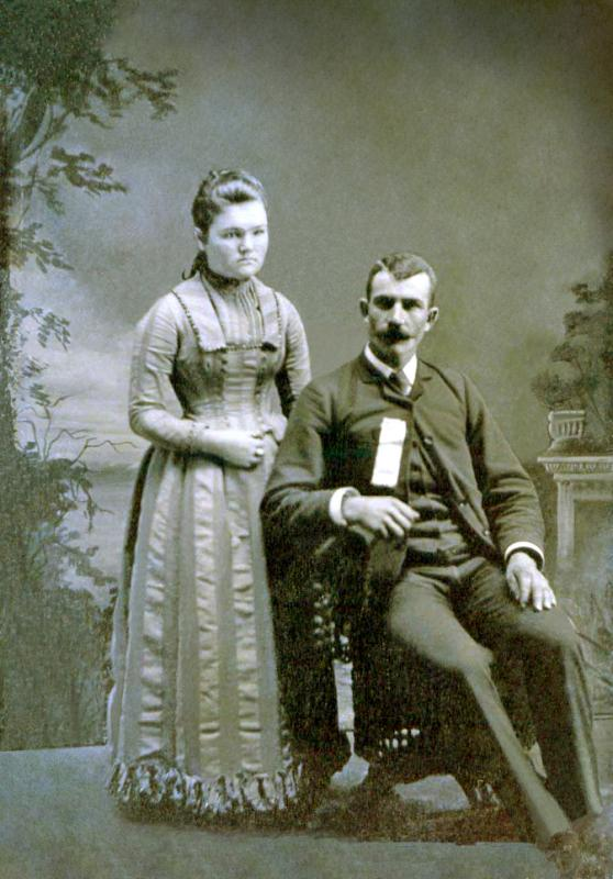 William Graves and wife Grace (Peer) Graves ? (#33)