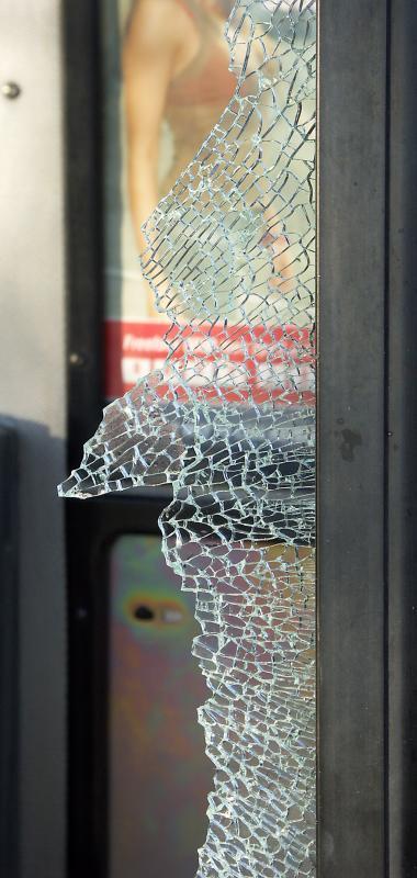 Glass shards