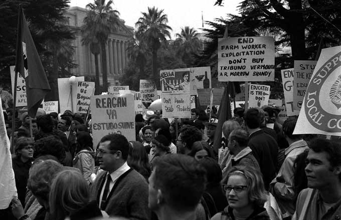 Sacramento Protest March