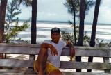 Frank in Bimini, 1988