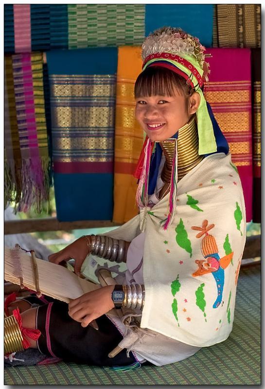 Padaung girl