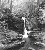 Waterfall in Ricketts Glen SP