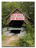 Cilleyville - Bog Covered Bridge  - No.16