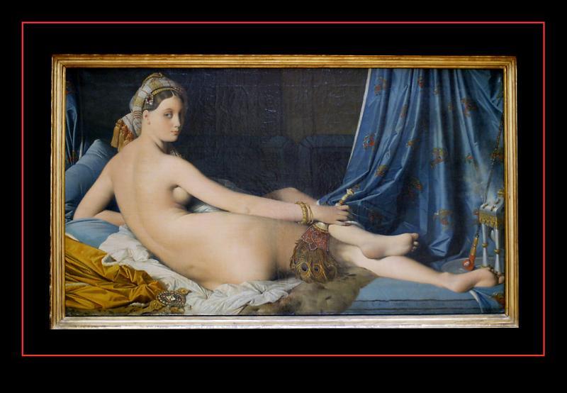 La Grande Odalisque (1814) par INGRES