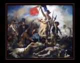 La Liberté Guidant Le Peuple (1830) par Eugène DELACROIX