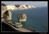 ... from limestone cliffs