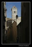 ...its narrow streets , old churches...