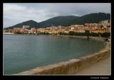 Ajaccio, under bad weather