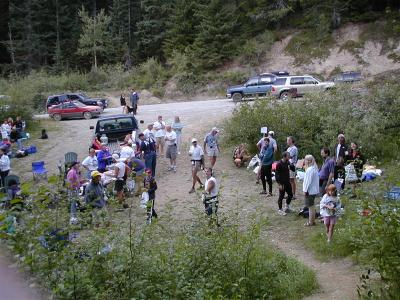 Stampede Pass Aid Station from Rons POV (RN)