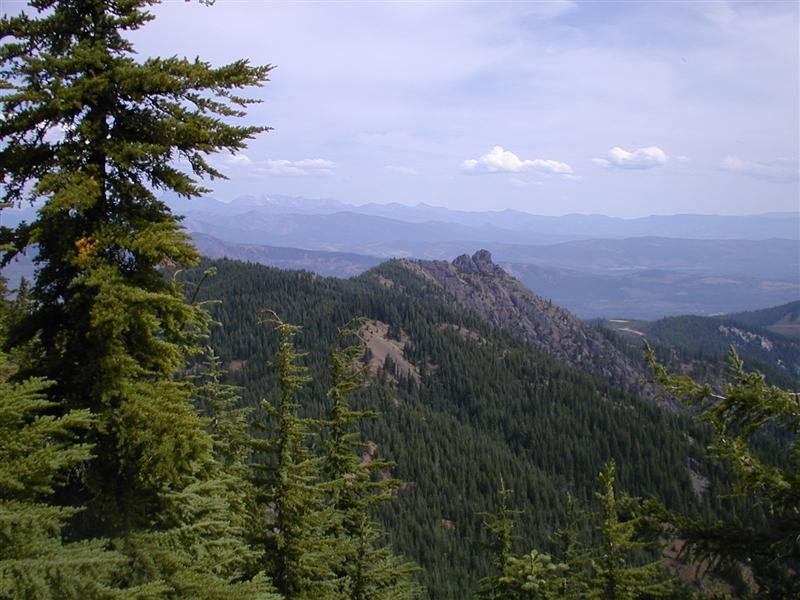 View from Goat Rocks (RN)