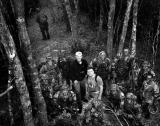 grunts and photographers Gunnery Sgt. Matt Hevezi and Sgt. Ben Barr role-playing civilian embeds.