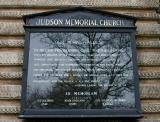 Judson Church Bulletin Board