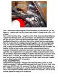 VIRAGO TURN SIGNAL BEEPER INSTALLATION INSTRUCTIONS