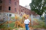 Keith Leggett, renovates Elvis' unit for a future museum (2002)