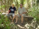 Peter & Klaus im Klostergarten