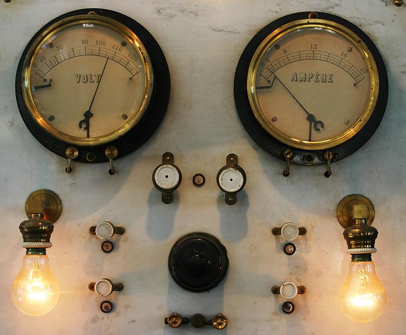 At the old mechanical workshop