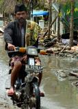 devastated streets of Banda Aceh, Sumatra