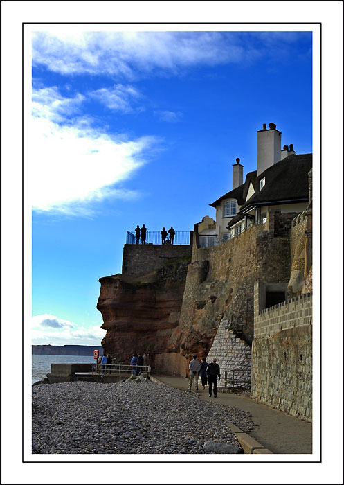 The undercliff walkway, Sidmouth