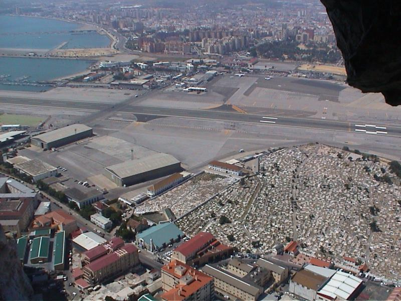 Airport & Cemetary