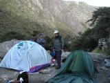 First camp (3200m)