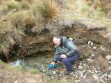 Fresh mountain water
