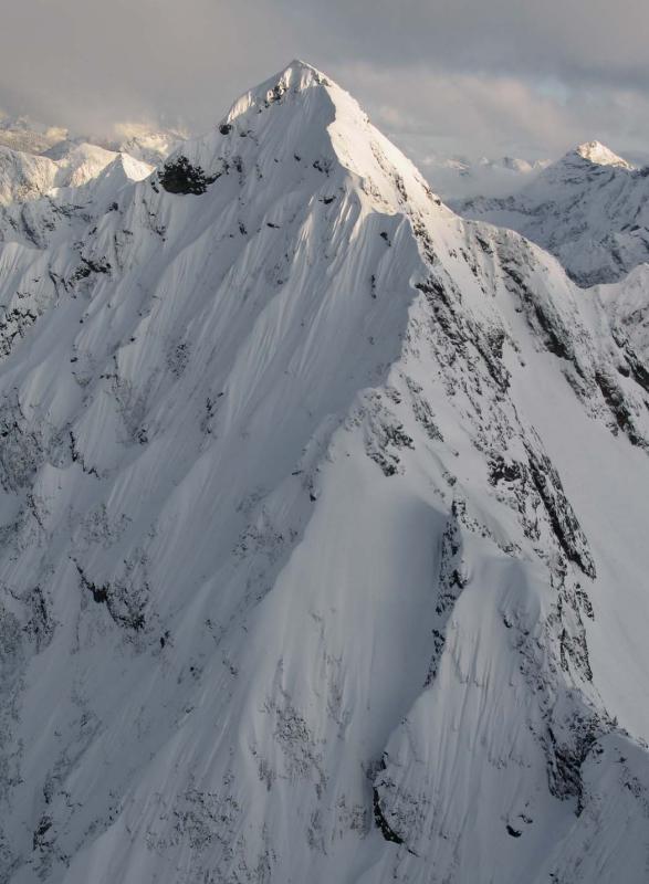 Graybeard, N Face & W Ridge (Graybeard040405-06adj.jpg)
