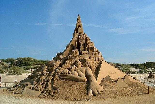 Sand Sculptures - Blokhus
