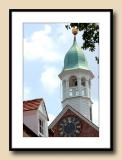 Bell Tower of Home Moravian Church at Old Salem