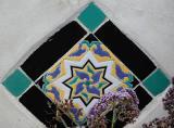 flower swirl tile