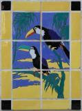 Two Toucan tile