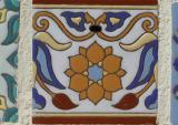 Cow tail tile