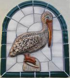 Pelican tile at restroom