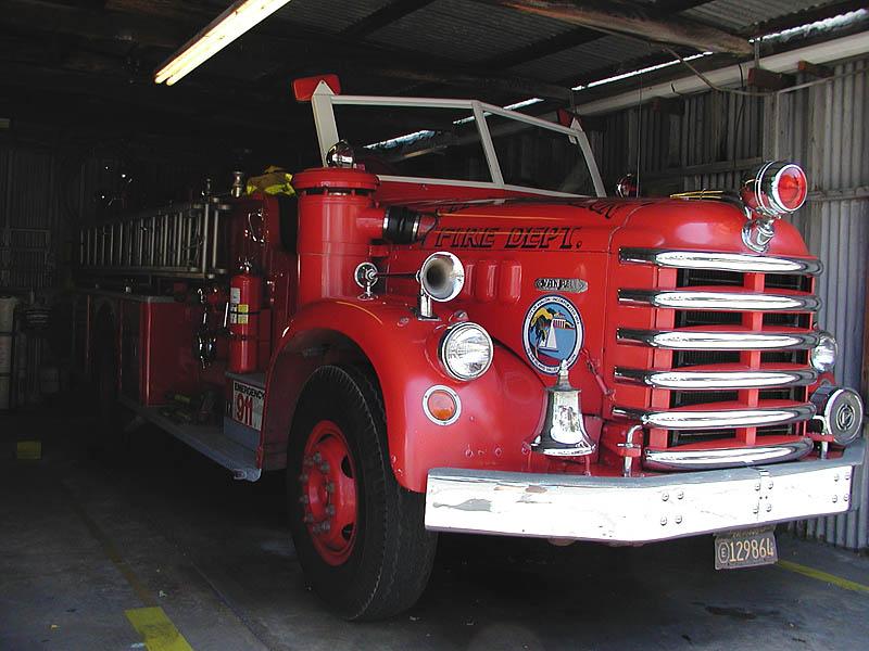 Avalons classic fire engine, a Van Pelt